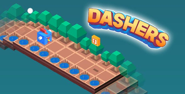 Dashers Isometric HTML5 Game + Capx