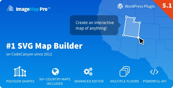 Image Map Pro for WordPress - SVG Map Builder - CodeCanyon Item for Sale