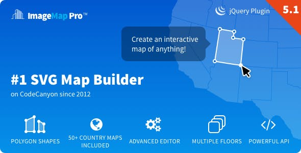 Image Map Pro - jQuery SVG Map Builder