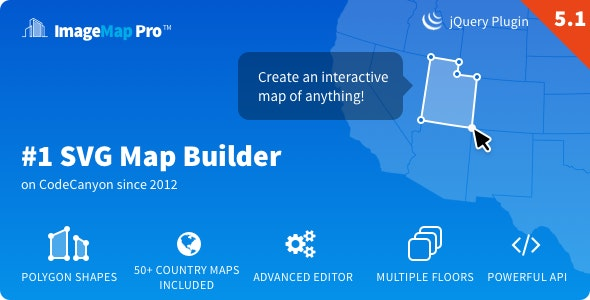 Image Map Pro - jQuery SVG Map Builder - CodeCanyon Item for Sale