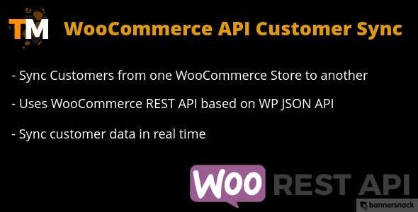 WooCommerce API Customer Sync - CodeCanyon Item for Sale