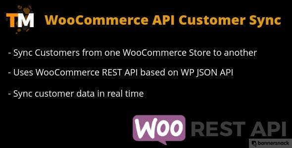 WooCommerce API Customer Sync
