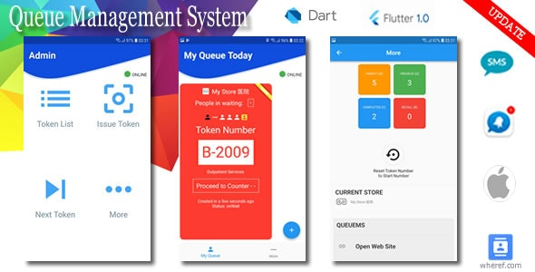 Paperless Queue Management System for iOS - CodeCanyon Item for Sale