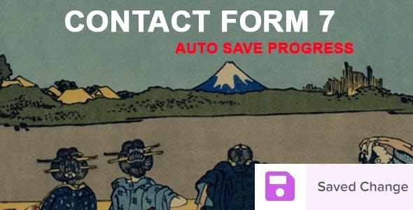 Contact Form 7 Auto Save Progress