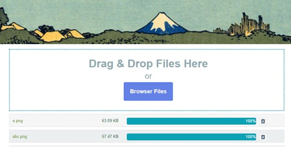 Contact Form 7 Drag and Drop FIles Upload - Multiple Files Upload