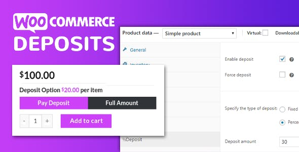 WooCommerce Deposits - Partial Payments Plugin        Nulled