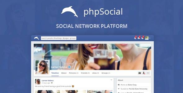phpSocial - Social Network Platform        Nulled