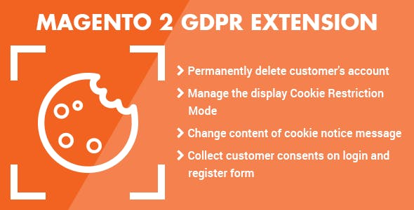 Magento 2 GDPR Extension