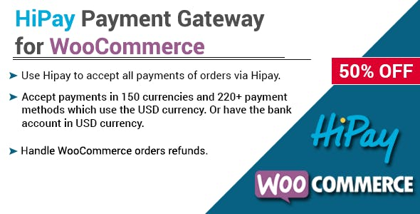 HiPay Payment Gateway for WooCommerce