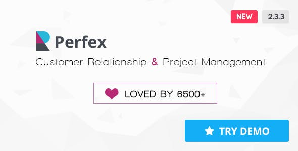 Perfex - Powerful Open Source CRM - CodeCanyon Item for Sale