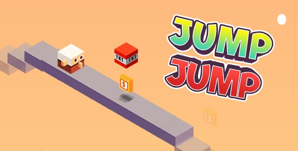 Jump Jump Isometric Infinite runner HTML5 + Construct 2 - CodeCanyon Item for Sale