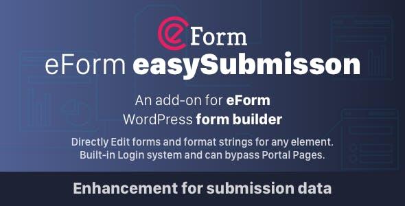 eForm easySubmission - Direct Form Edit & Extended Format String