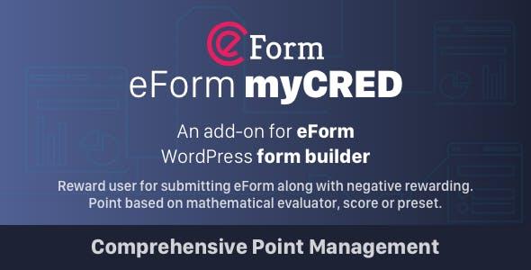 myCRED Integration for eForm