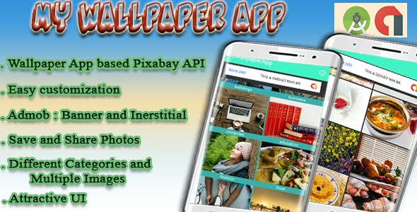 My Wallpaper App : Android Project with Admob - CodeCanyon Item for Sale