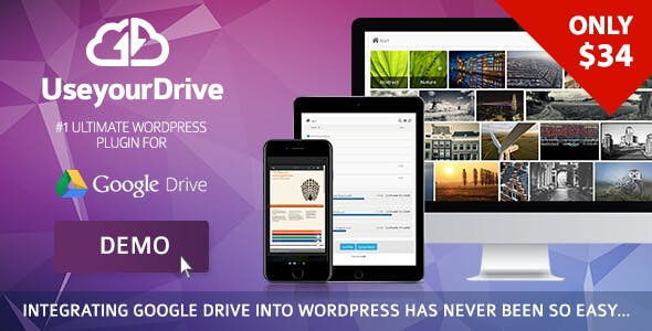 Use-your-Drive | Google Drive plugin for WordPress        Nulled