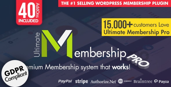 Ultimate Membership Pro - WordPress Membership Plugin by