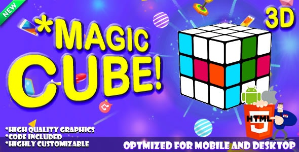 *MAGIC CUBE! - HTML5 Game. - CodeCanyon Item for Sale