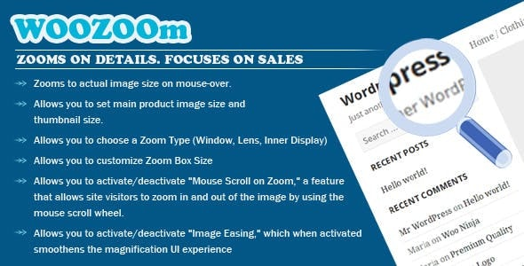 WOOZOOm PRO - Zooms On Details. Focuses on Sales - CodeCanyon Item for Sale