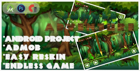 New Platforme Jungle-adventure