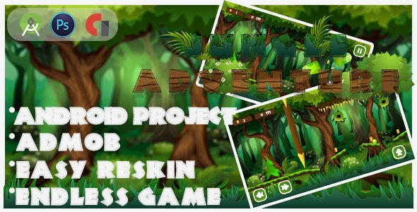 New Platforme Jungle-adventure - CodeCanyon Item for Sale
