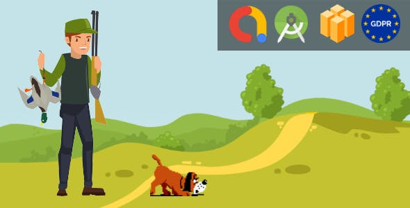 Duck Hunter - Android Studio + Buildbox Template + Admob + GDPR + API 27 + Eclipse