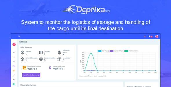 Courier Deprixa Pro - Integrated Web System v3.2.6.2
