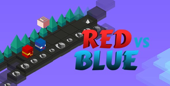 Red Vs Blue Multiplayer Isometric HTML5 Game + CAPX