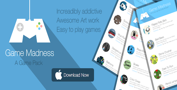 Classic Game Bundle - iOS, Android, Cocos2d - CodeCanyon Item for Sale