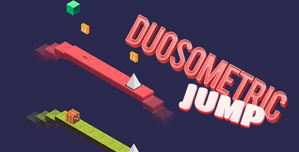 Duosometric Jump HTML5 Game