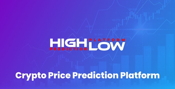 HighLow - Crypto Prediction Trading Platform - CodeCanyon Item for Sale