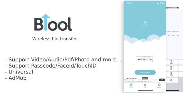 BTool Pro - Wireless file transfer Download