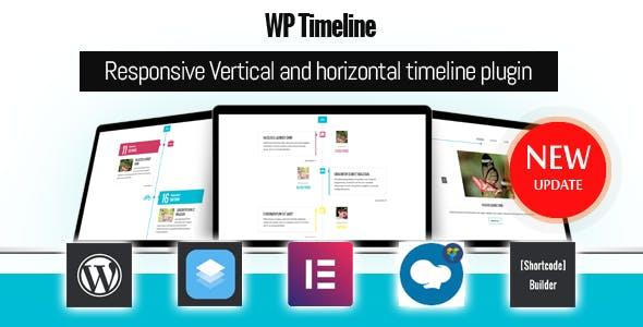 WP Timeline – Responsive Vertical and Horizontal timeline plugin