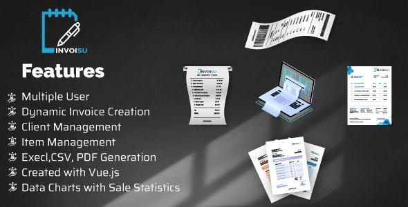 Invoisu - Invoice Maker - CodeCanyon Item for Sale