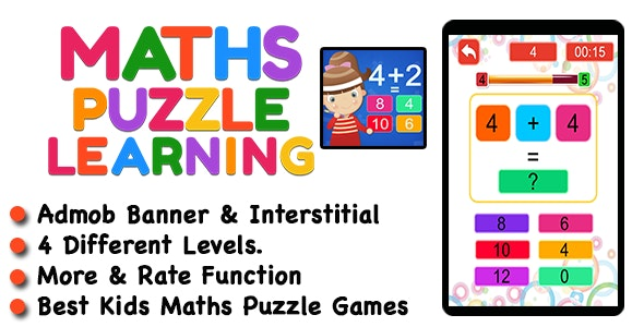 Kids Maths Learning Game For IOS - CodeCanyon Item for Sale