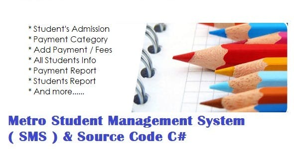 Metro Student Management System ( SMS ) & Source Code