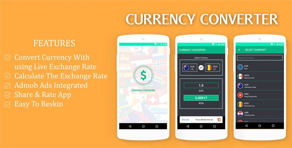 Make A Currency Converter App With Mobile App Templates