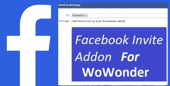 Facebook Invite Addon For WoWonder