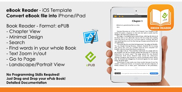 eBook - ePub Reader App iOS Template