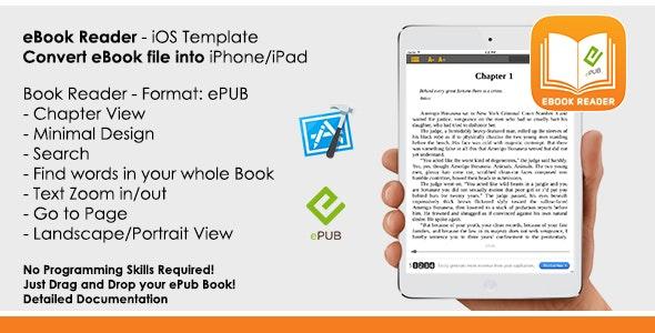 eBook - ePub Reader App iOS Template by AppsVilla | CodeCanyon