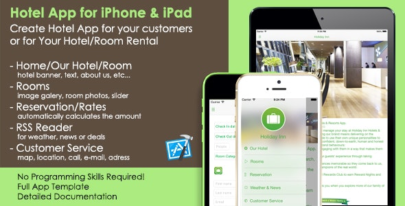 Hotel App iOS Template - Your Room Rental App - CodeCanyon Item for Sale