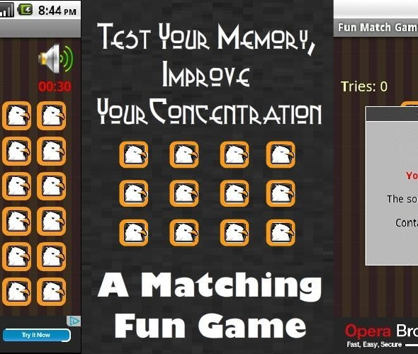 Fun Match Memory Game With Google Ads - CodeCanyon Item for Sale