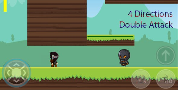Ninja Adventures (4 Directions) Unity