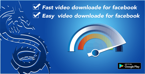 F-downloader - A facebook video downloader