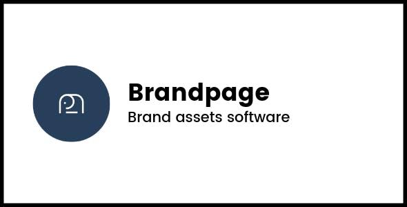 Brandpage - Brand assets software