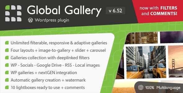 Global Gallery - Wordpress Responsive Gallery        Nulled