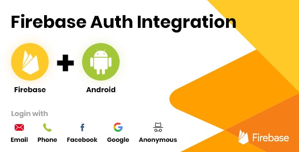 Firebase Auth Integration - Android - CodeCanyon Item for Sale