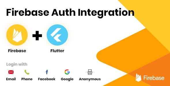 Firebase Auth Integration - Flutter - CodeCanyon Item for Sale