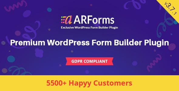 ARForms: Wordpress Form Builder Plugin        Nulled