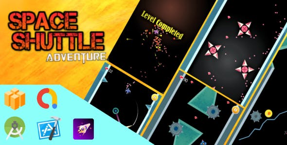 Space Shuttle Adventure: Buildbox Template