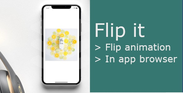 Flip it | React Native with flip animation - CodeCanyon Item for Sale
